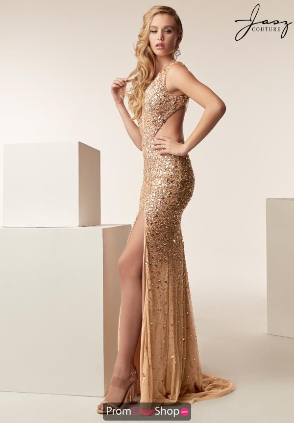 Jasz Couture Beaded Long Dress 6271