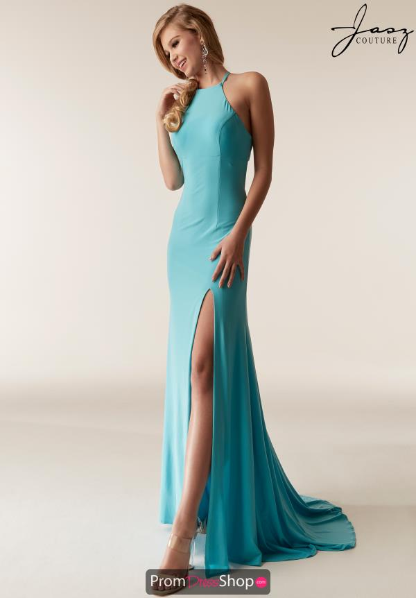Jasz Couture Open Back Fitted Dress 6291