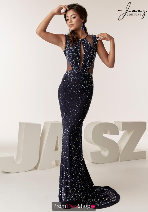 Jasz Couture Full Figured Long Dress 6292