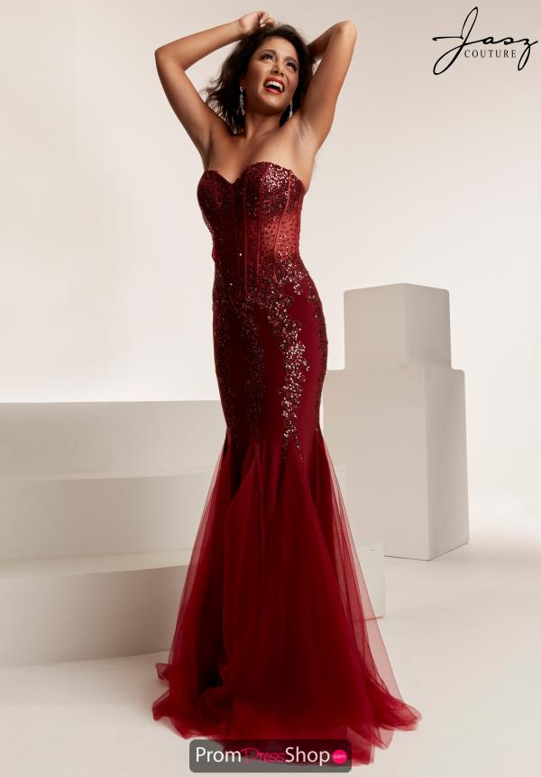 Jasz Couture Beaded Mermaid Dress 6317