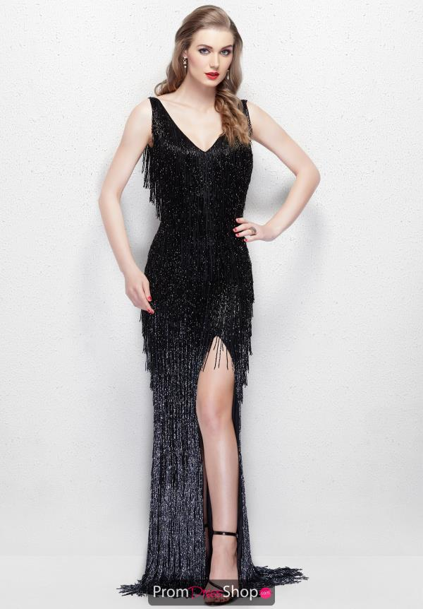 Primavera Fitted Fringe Dress 3031