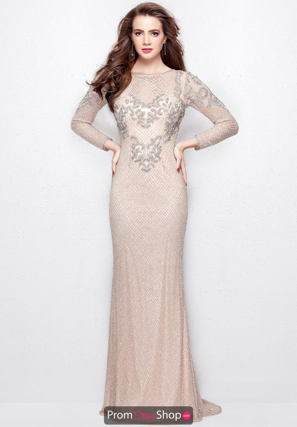 Primavera Long Beaded Dress 3051