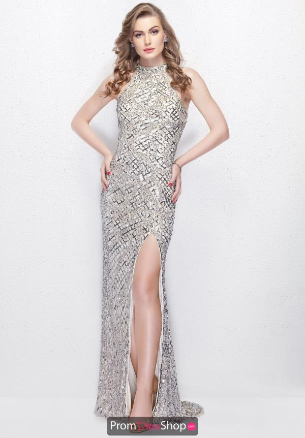 Primavera Fitted Long Dress 3059