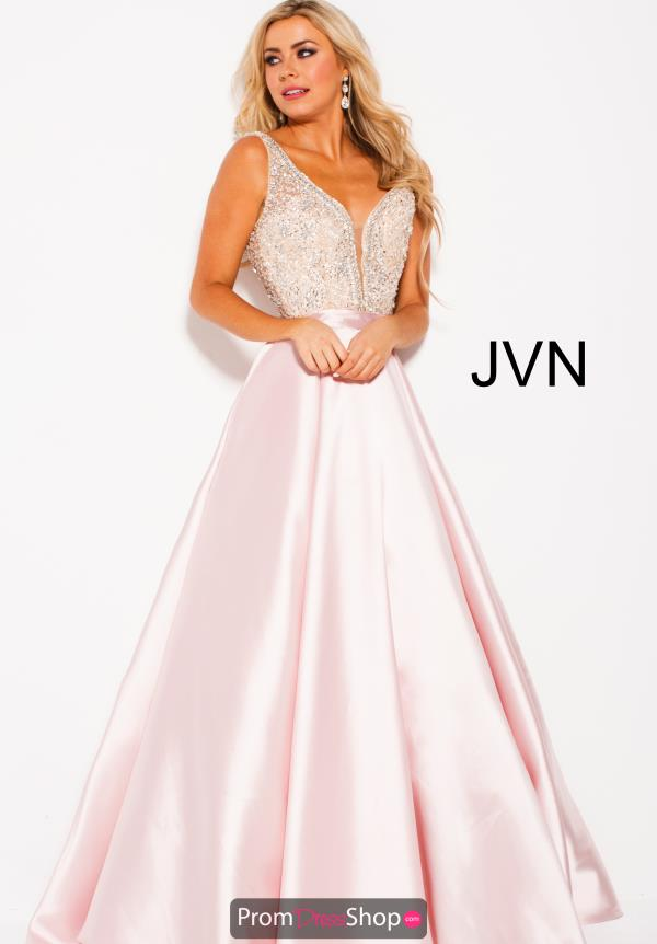 JVN by Jovani Long A Line Dress JVN60696