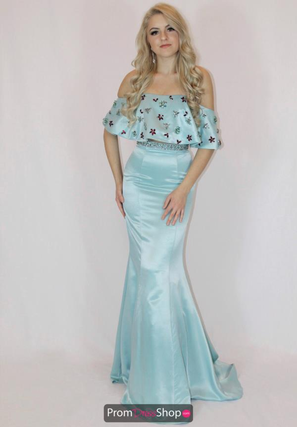 Sherri Hill Satin Long Dress 51054