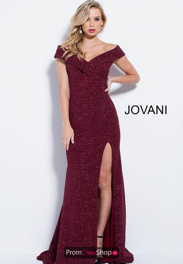 Jovani Long Fitted Dress 58576