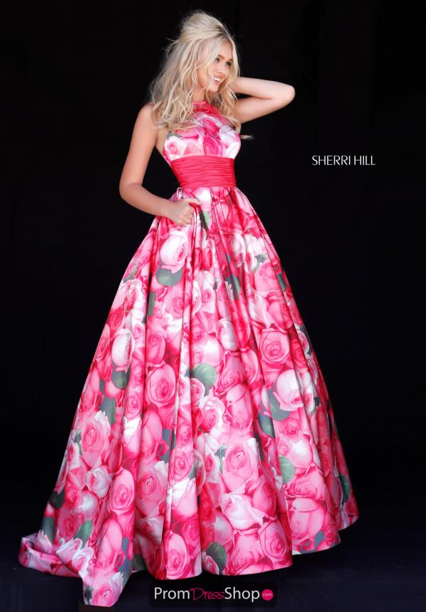 Sherri Hill A Line Long Dress 51800