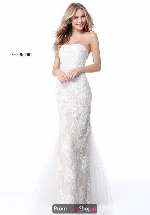 Sherri Hil Strapless Long Dress 51769