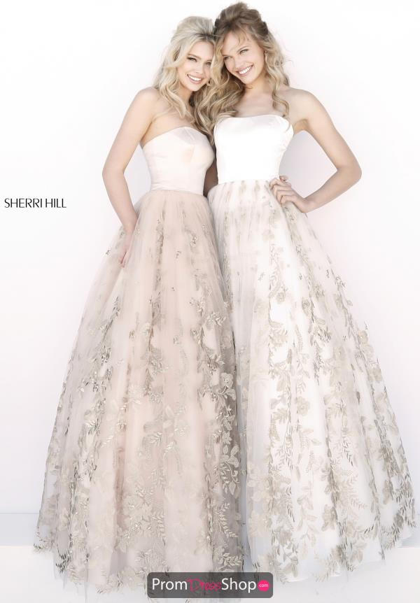 Sherri Hill Beaded Ball Gown 51596