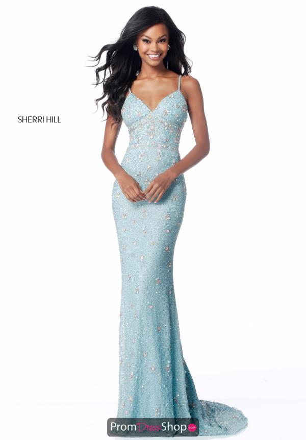 Sheri Hill Fitted Long Dress 51751