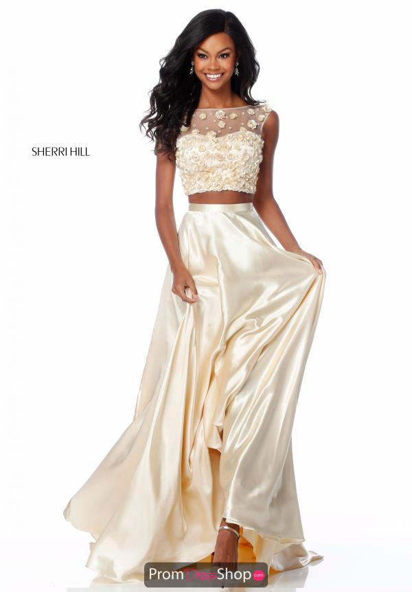 Sherri Hill Two Piece A Line Dress 51863