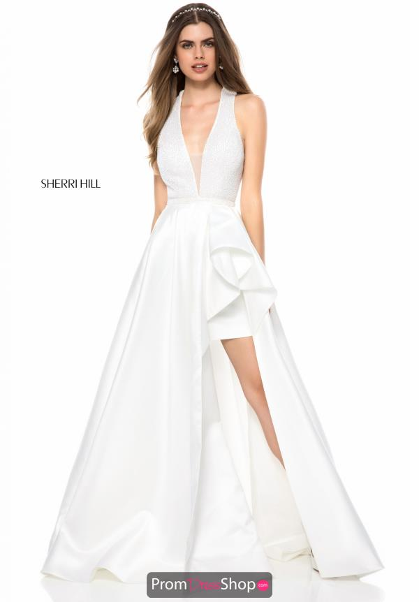 Sherri Hill A Line Long Dress 51919