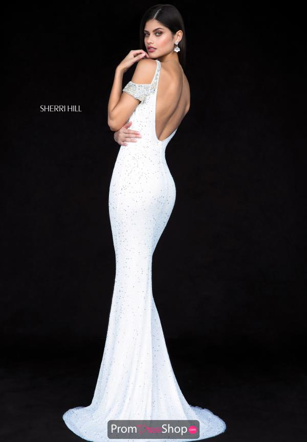 Sherri Hill Cap Sleeve Long Dress 51985