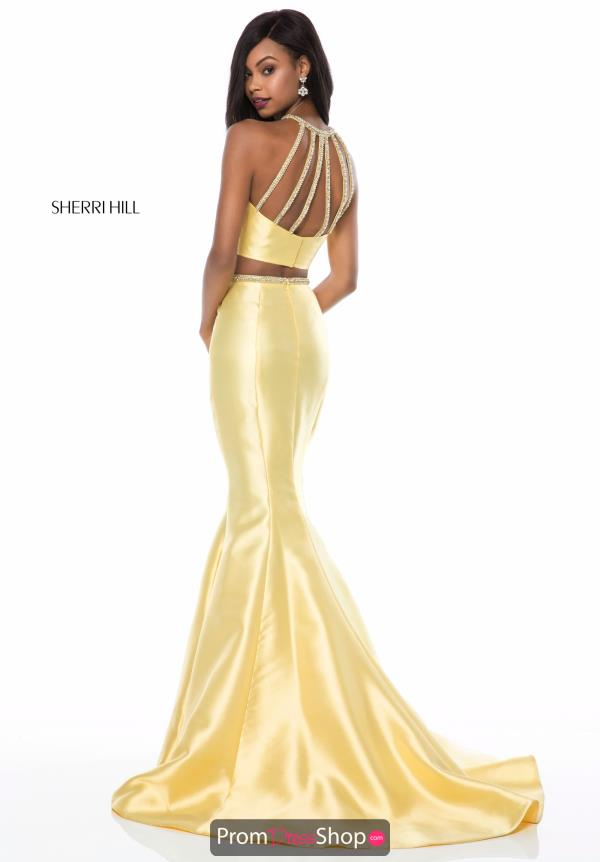 Sherri Hill Halter Mermaid Dress 52024