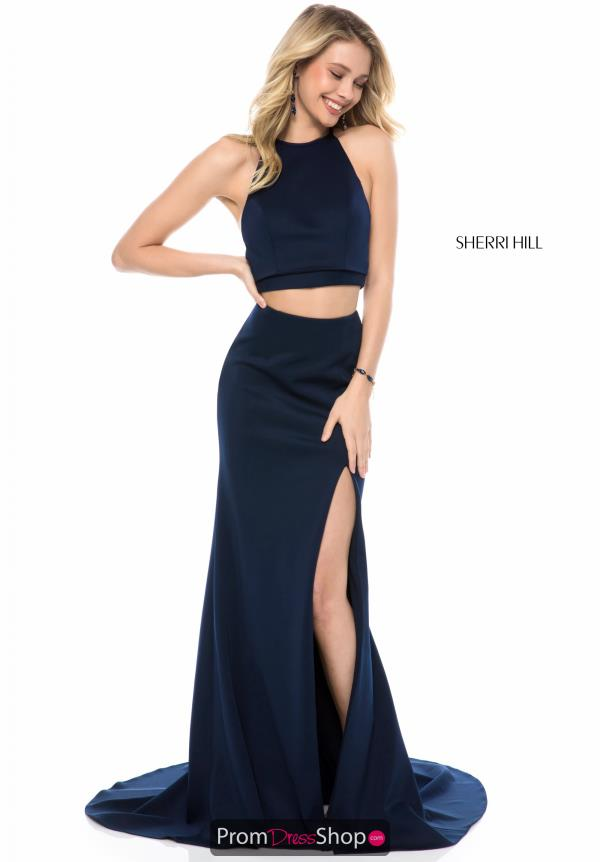 Sherri Hill Fitted Jersey Dress 52042