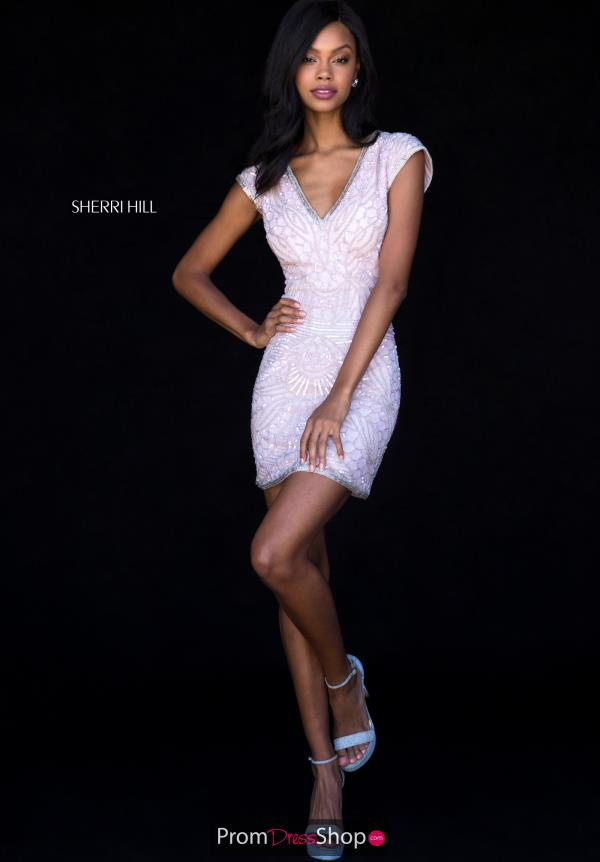 Sherri Hill Short Fitted Dress 51983
