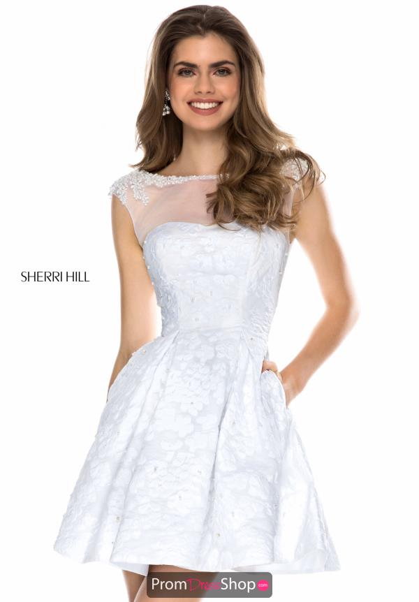 Sherri Hill Short A Line Dress 52078