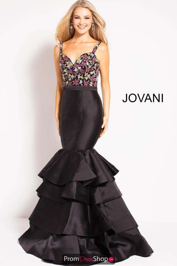 Jovani Long Fitted Dress 48127