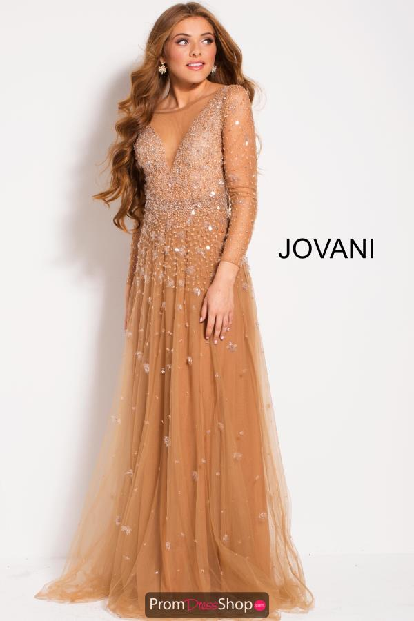 Jovani Beaded Long Dress 48928