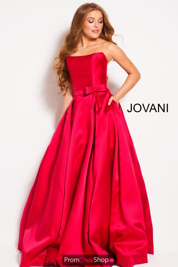 Jovani Long A Line Dress 48941