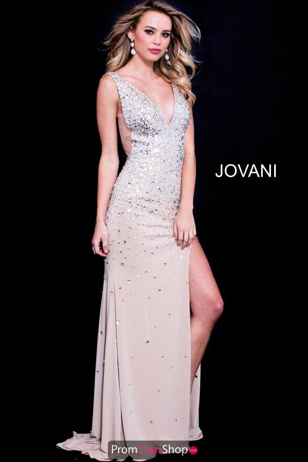 Jovani Long Fitted Dress 49215