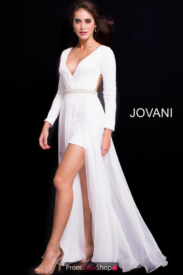Jovani Long A Line Dress 49266