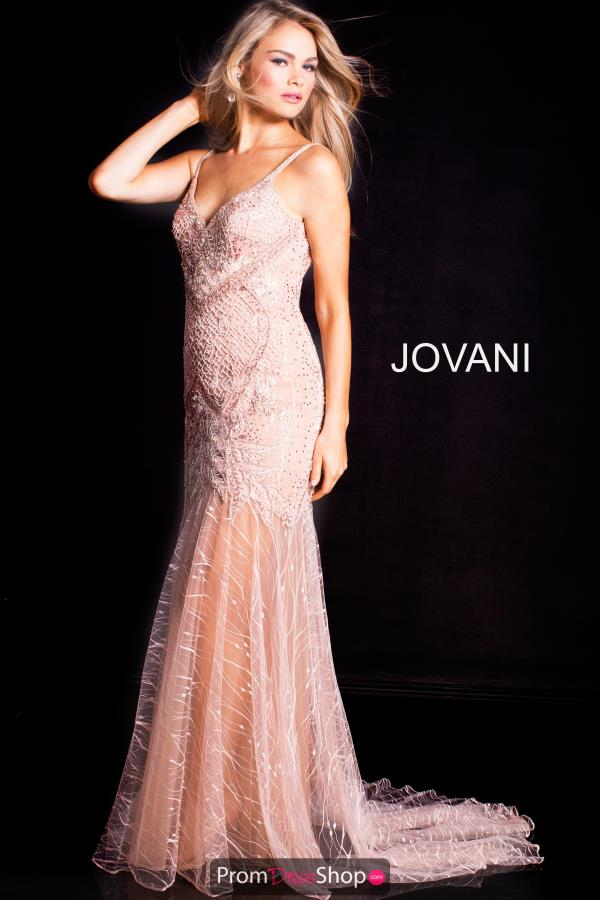 Jovani Long Fitted Dress 49569