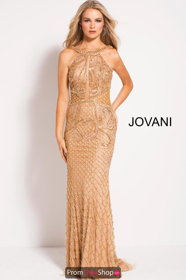Jovani Long Fitted Dress 50127