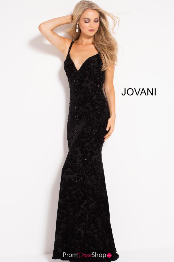 Jovani Long Lace Dress 50937