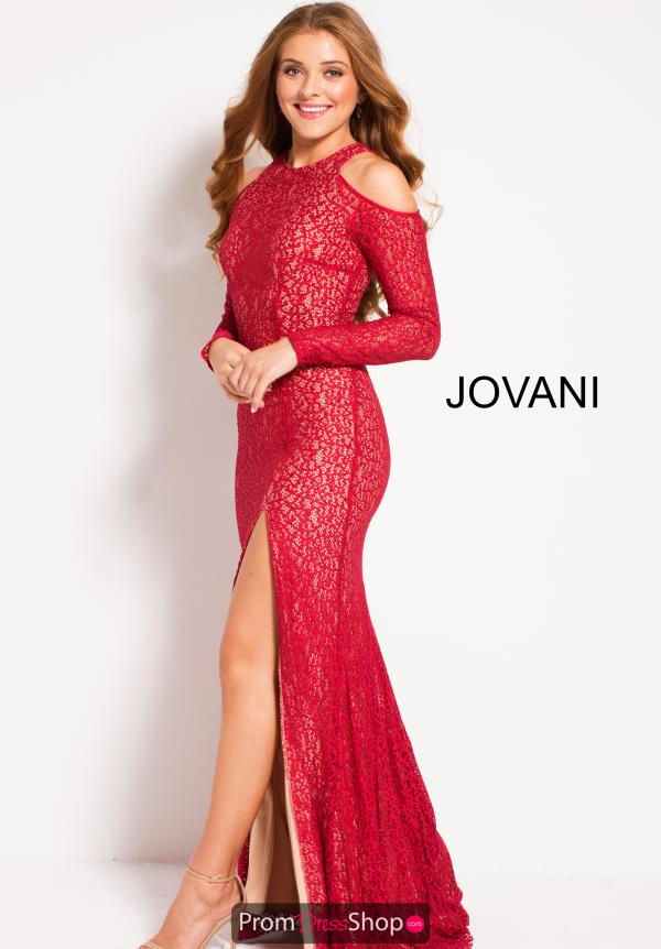 Jovani Long Sleeved Fitted Dress 51487