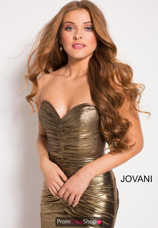 Jovani Strapless Fitted Dress 51552