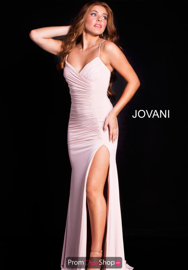 Jovani Long Jersey Dress 51553