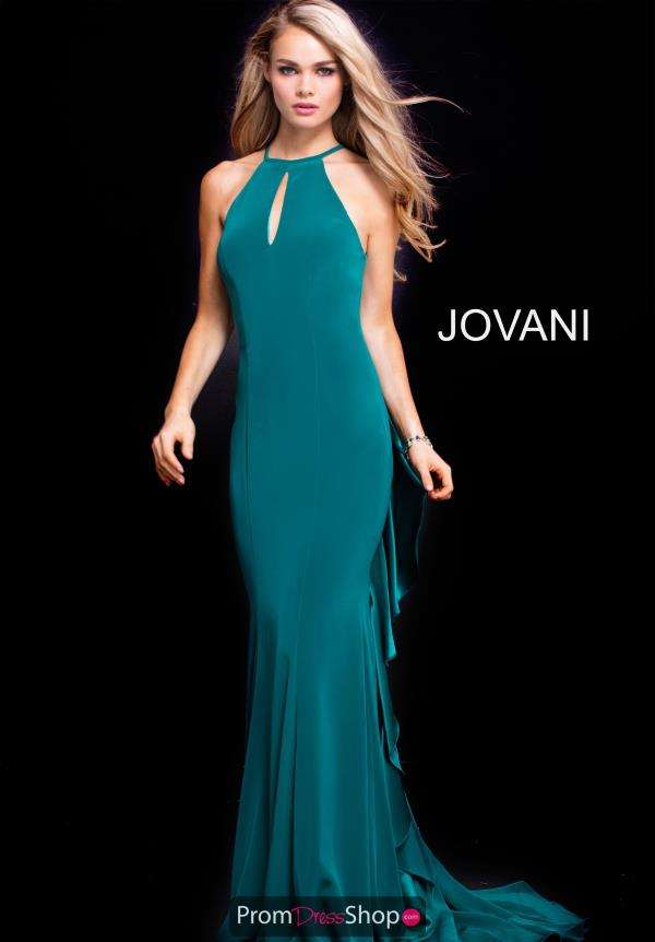 Jovani Fitted Jersey Dress 51617