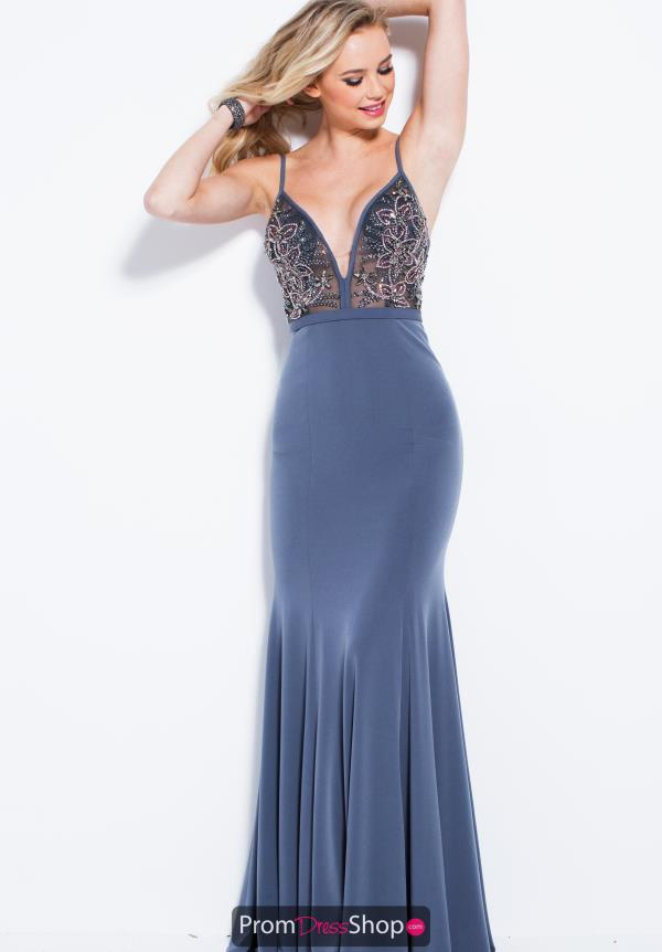 Jovani Beaded Long Dress 52138
