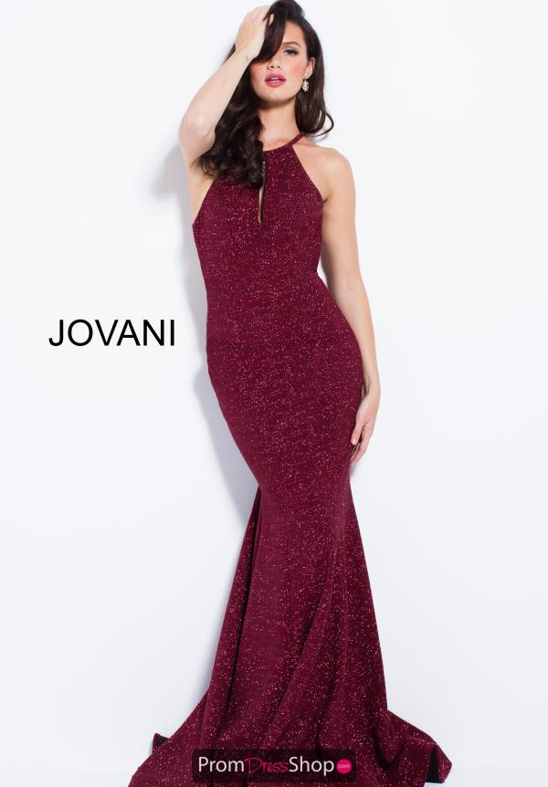 Jovani Halter Top Fitted Dress 52144