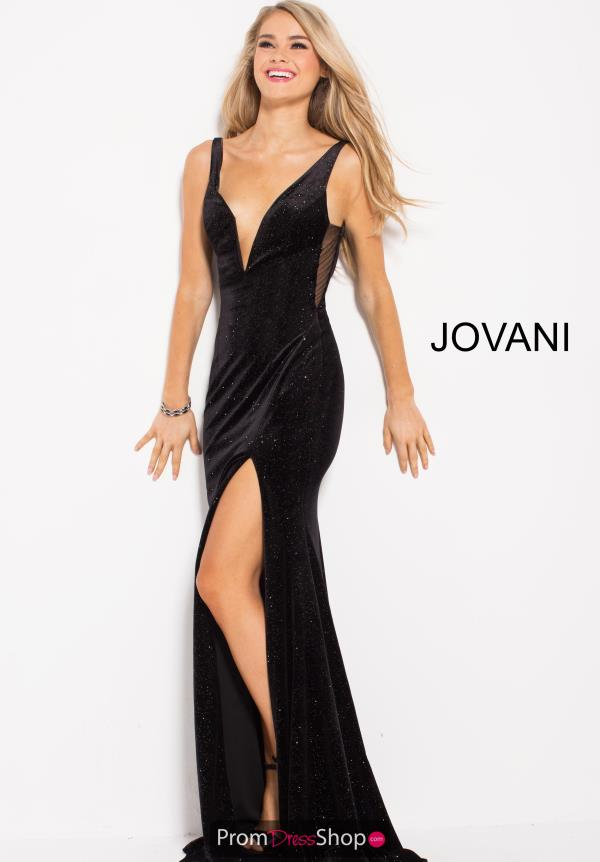 Jovani Fitted Black Dress 52157