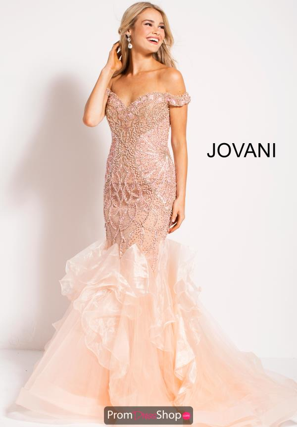 Jovani Long Beaded Dress 53396