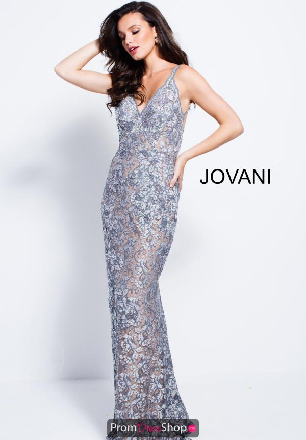 Jovani Long Lace Dress 53811