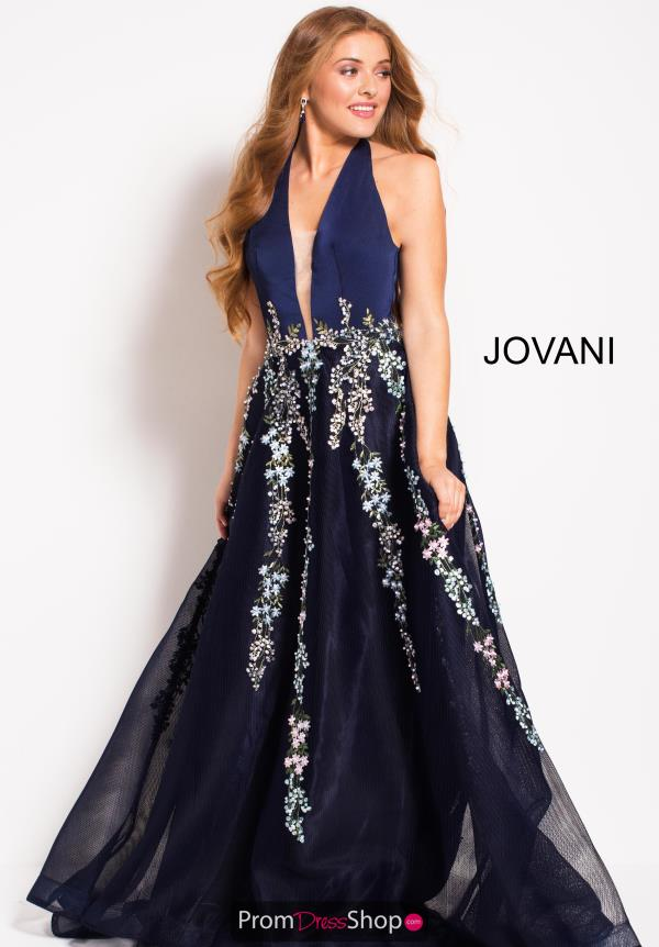 Jovani Long Beaded Dress 54451