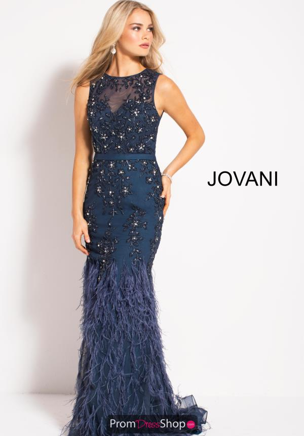 Jovani Long Beaded Dress 54462