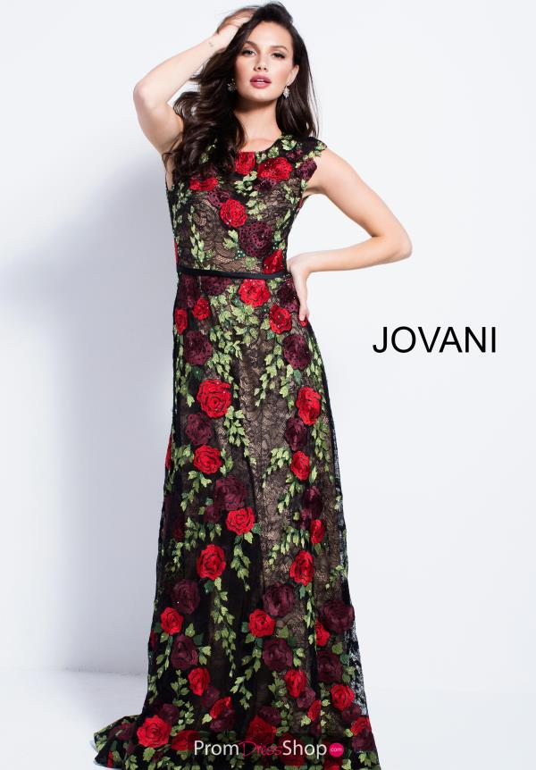 Jovani Long Fitted Dress 54677