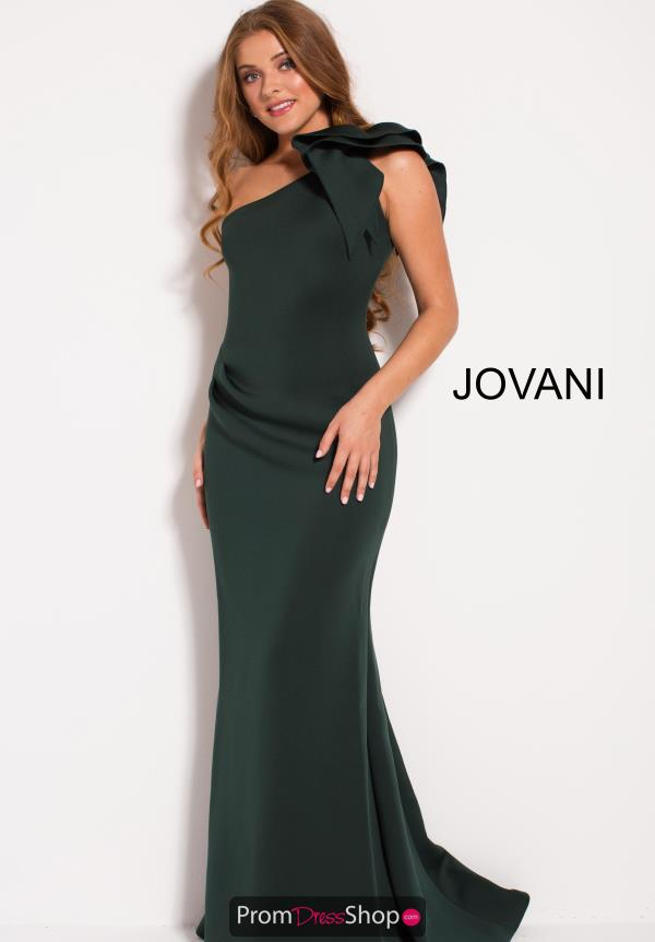 Jovani One Shoulder Fitted Dress 54717
