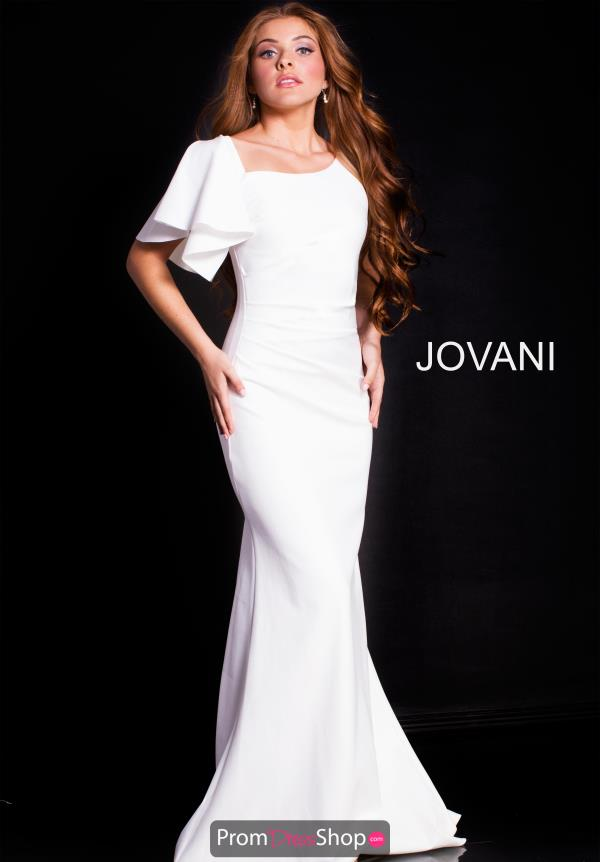 Jovani Sleeved Fitted Dress 54789