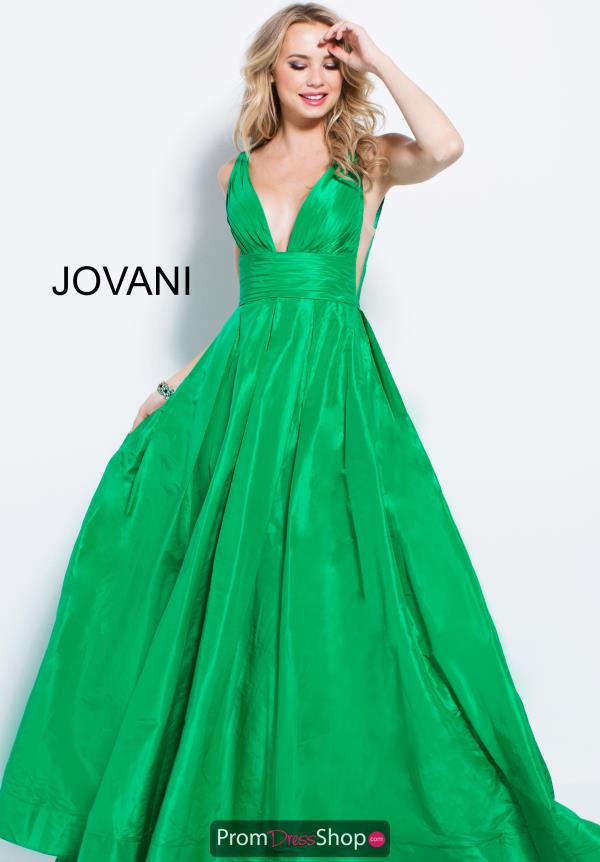 Jovani Long Taffeta Dress 54812