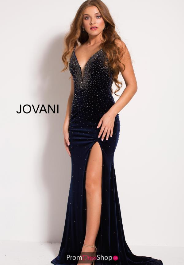 Jovani Beaded Fitted Dress 54876