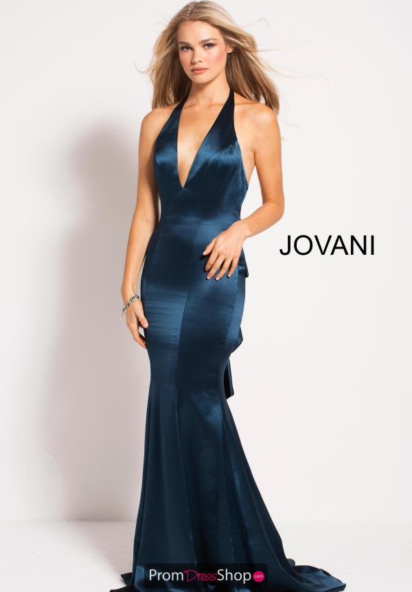 Jovani V- Neckline Fitted Dress 54900