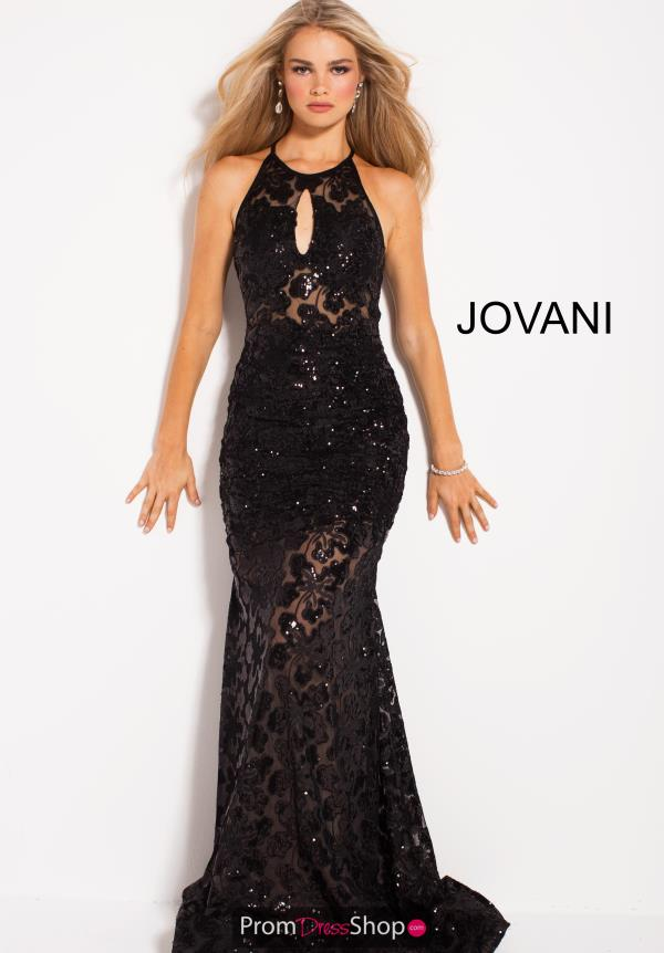 Jovani Fitted Lace Dress 54986