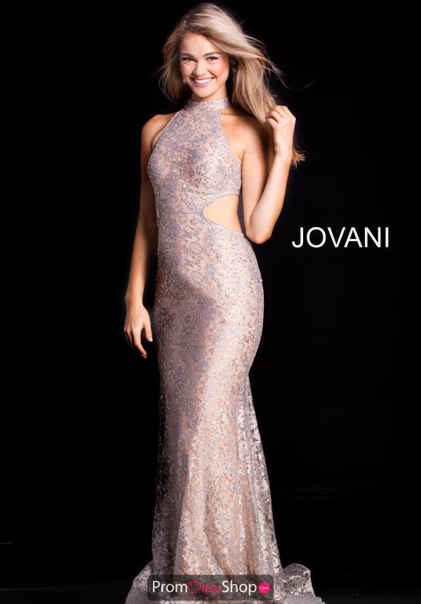 Jovani Fitted Lace Dress 55015