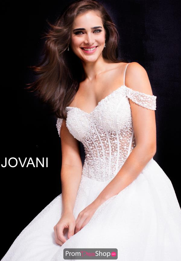 Jovani Long Beaded Dress 55247