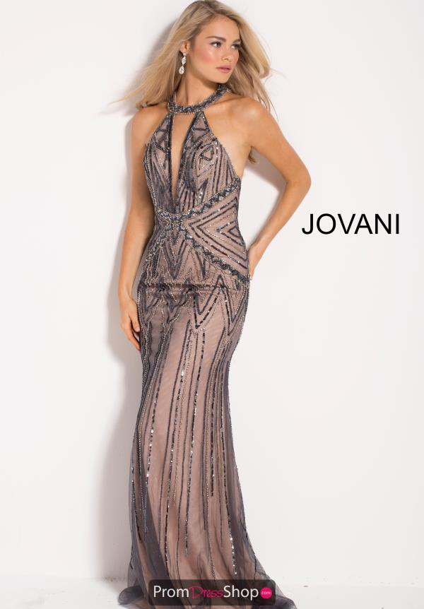 Jovani Long Fitted Dress 55423